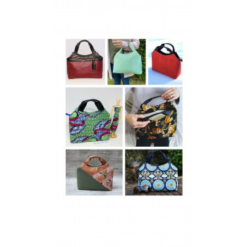 The Hope Handbag from Sewing Patterns by Mrs H - collage
