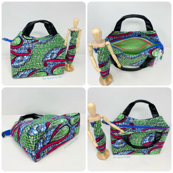 The Hope Handbag from Sewing Patterns by Mrs H - made by @Sew_Special_By_ZM