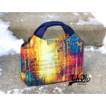 The Hope Handbag from Sewing Patterns by Mrs H - made by @UhOhCreations - front