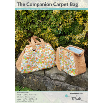 The Companion Carpet Bag by Sewing Patterns by Mrs H