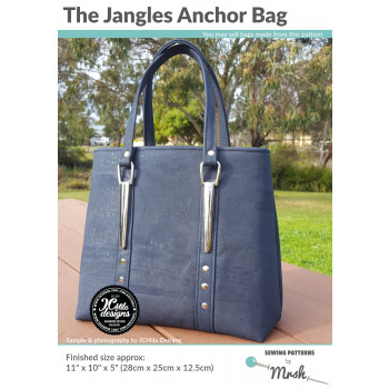 The Jangles Anchor Bag sewing pattern by Mrs H