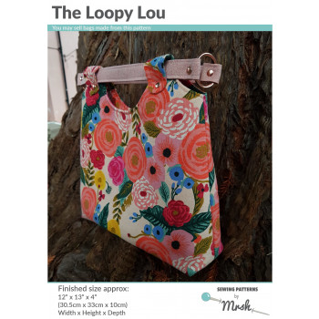 The Loopy Lou bag from Sewing Patterns by Mrs H