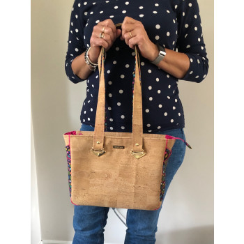 The Piped Pocket Tote made by Chris Parker