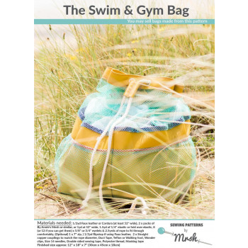 The Swim & Gym Bag pattern by Mrs H