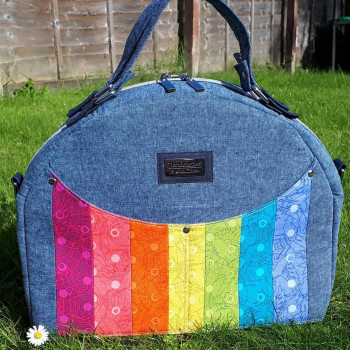 The Bowler Bag, made by Crafted by Lea