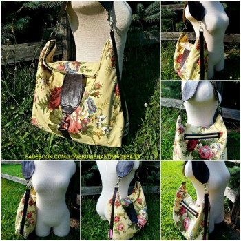 Leslie from Love Rubie's version of The Reversible Hobo Bag