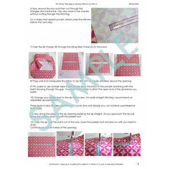 Fiesta Tote Sample Page