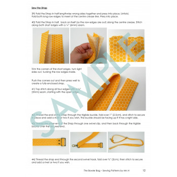 Bowler Bag Sample Page