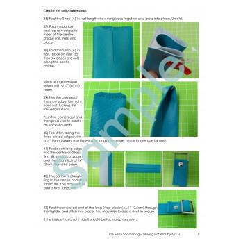 Sassy Saddlebag Sample Page