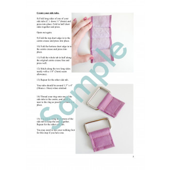 Sling Bag Sample Page