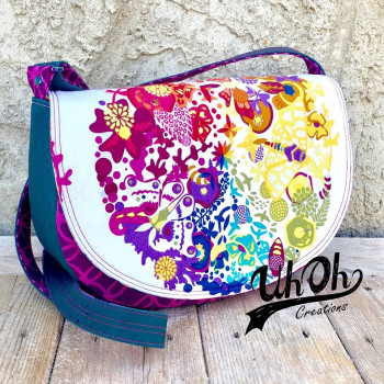 Tara from UhOh Creations: The Sassy Saddlebag by Sewing Patterns by Mrs H