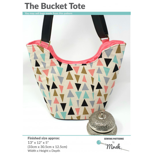 The Bucket Tote from Sewing Patterns by Mrs H