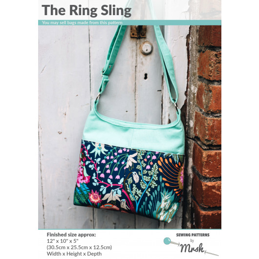 The Ring Sling by Sewing Patterns by Mrs H