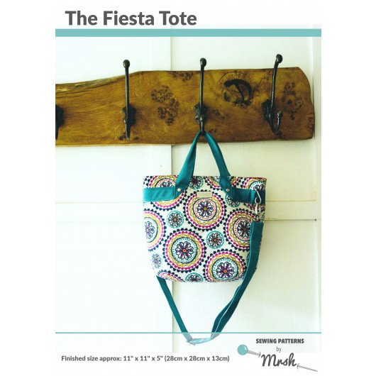 The Fiesta Tote sewing pattern