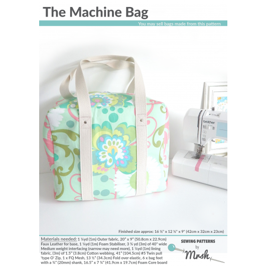 The Machine Bag sewing pattern by Mrs H