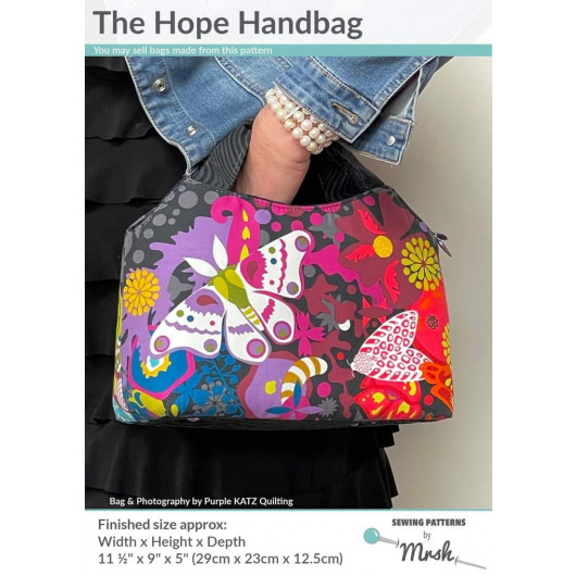 The Hope Handbag from Sewing Patterns by Mrs H - Front Cover
