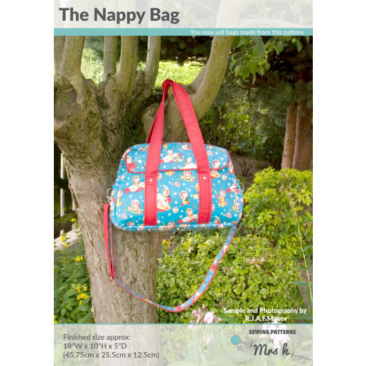 The Nappy Bag by Sewing Patterns by Mrs H