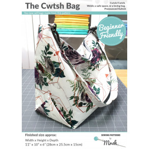 The Cwtsh Bag PDF Pattern - Charity Pattern for Black Minds Matter