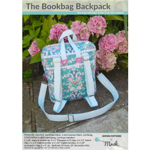 The Bookbag Backpack sewing pattern by Mrs H