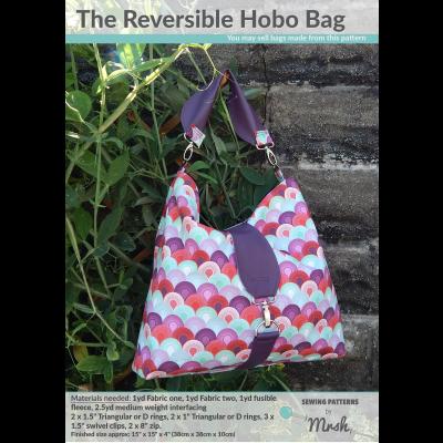 The Reversible Hobo Bag Pattern