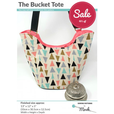 The Bucket Tote Pattern