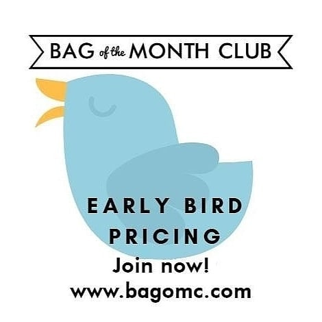 Join The Bag of the Month Club today!