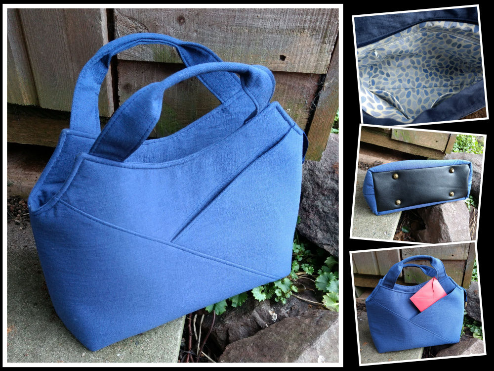 The Hope Handbag from Sewing Patterns by Mrs H, made by Elaine Baker