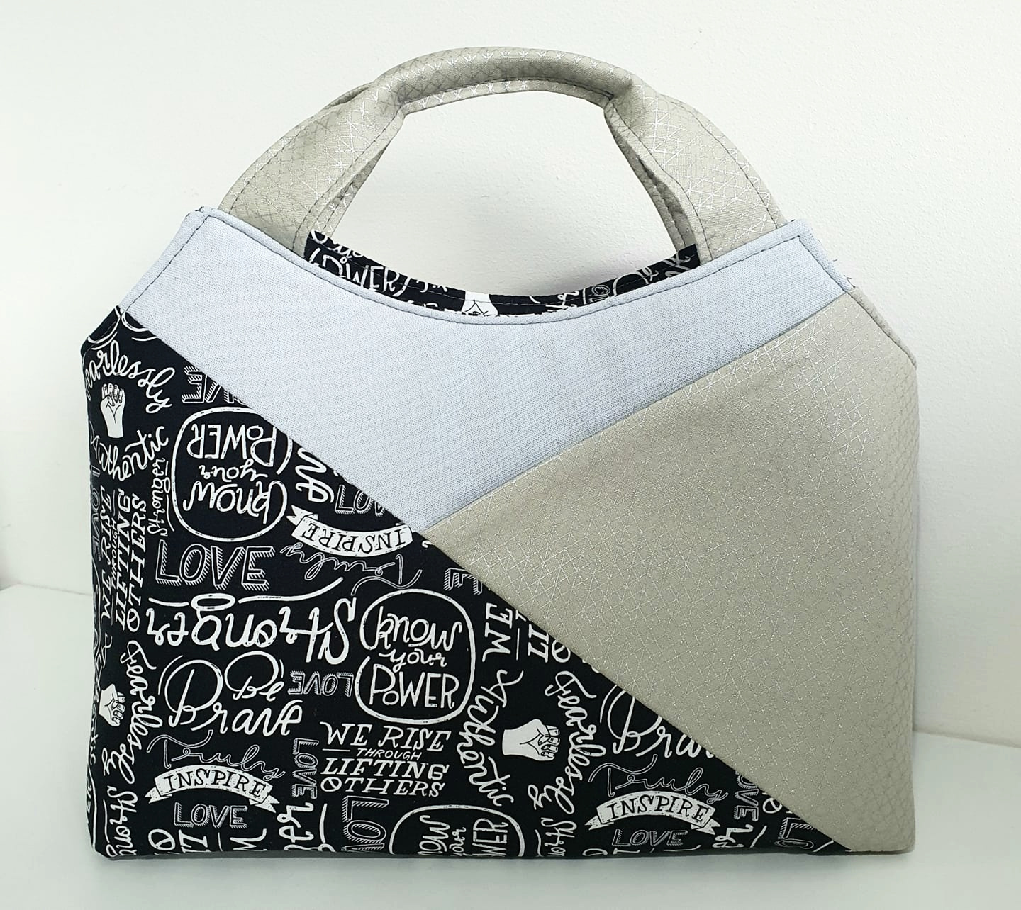The Hope Handbag designed by Sewing Patterns by Mrs H for The Bag of the Month Club