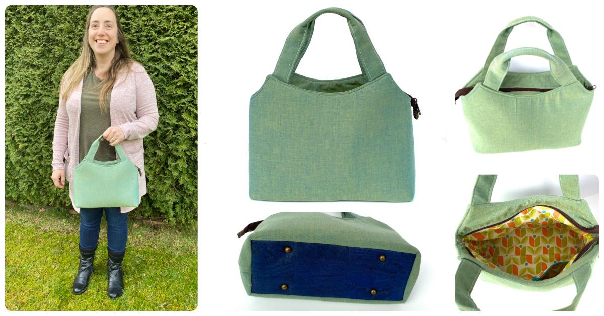 The Hope Handbag made by Reece Montgomery of Happy Okapi