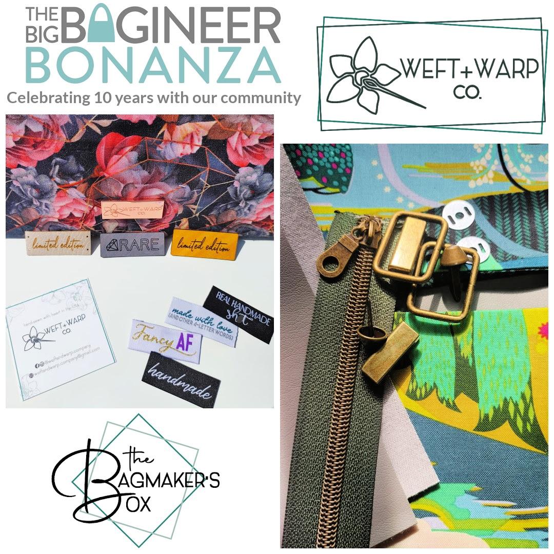 Weft & Warp Co, sponsor of The Big Bagineer Bonanza