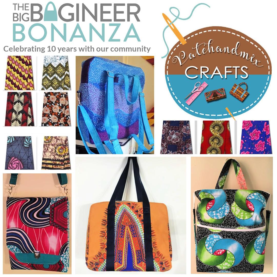 Patch & Mix Crafts - sponsor of The Big Bagineer Bonanza