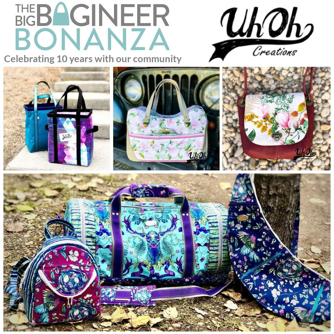 UhOh Creations - sponsoring the Big Bagineer Bonanza 2021