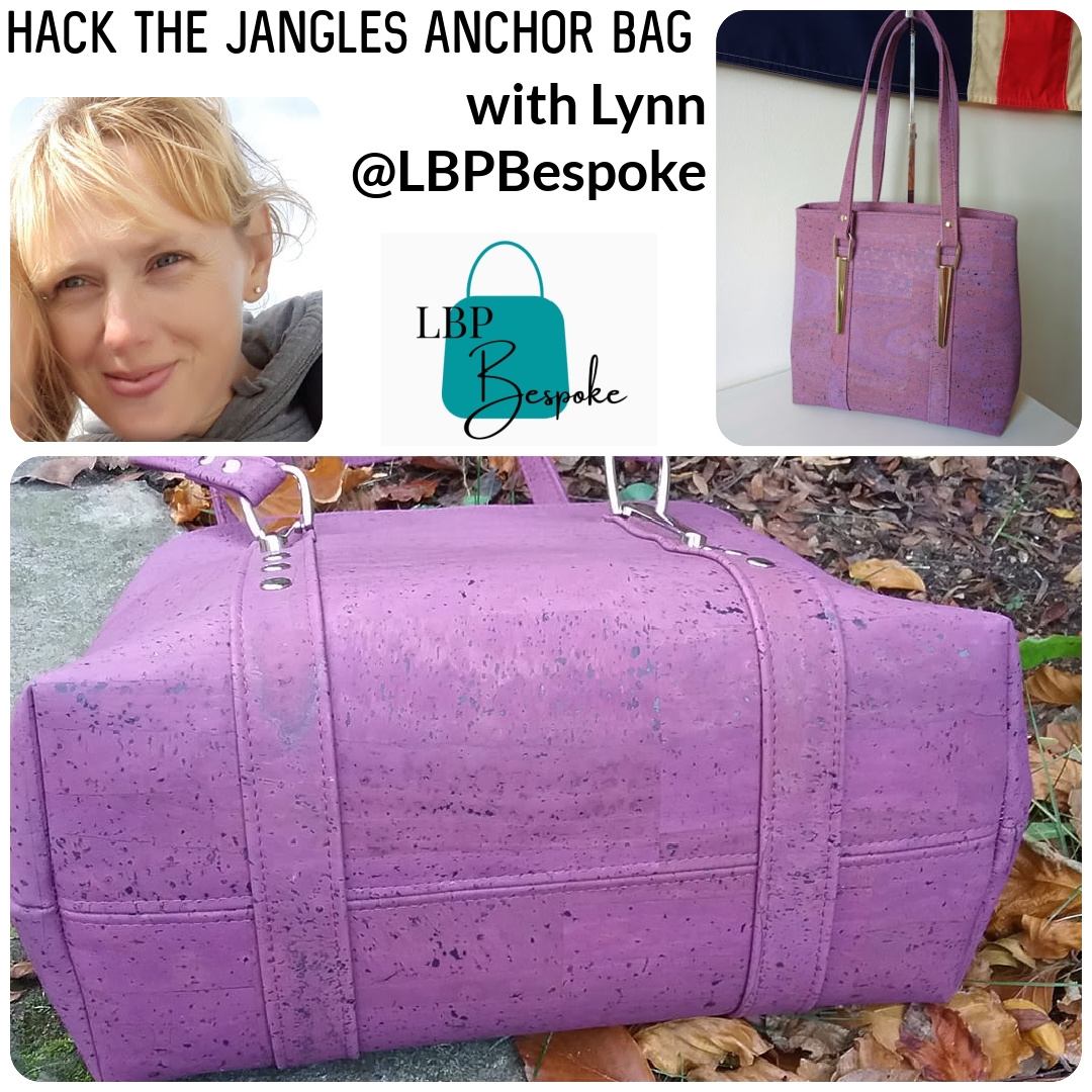 Hack the Jangles Anchor Bag with Lynn of LBP Bespoke