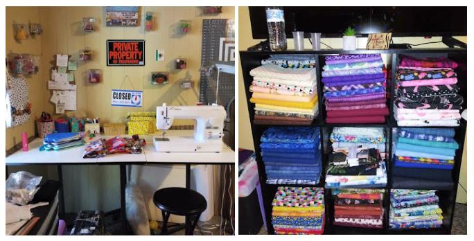 Ingrid's Sewing Space