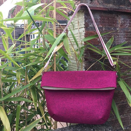 The Sling Bag, made by Double Dutch Stitching
