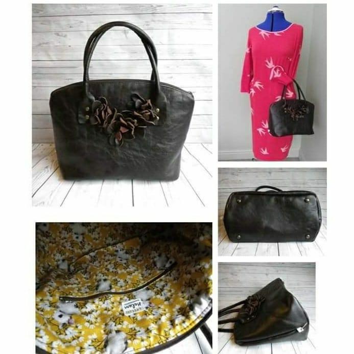 The Lola Domed Handbag, made by Helen Richardson