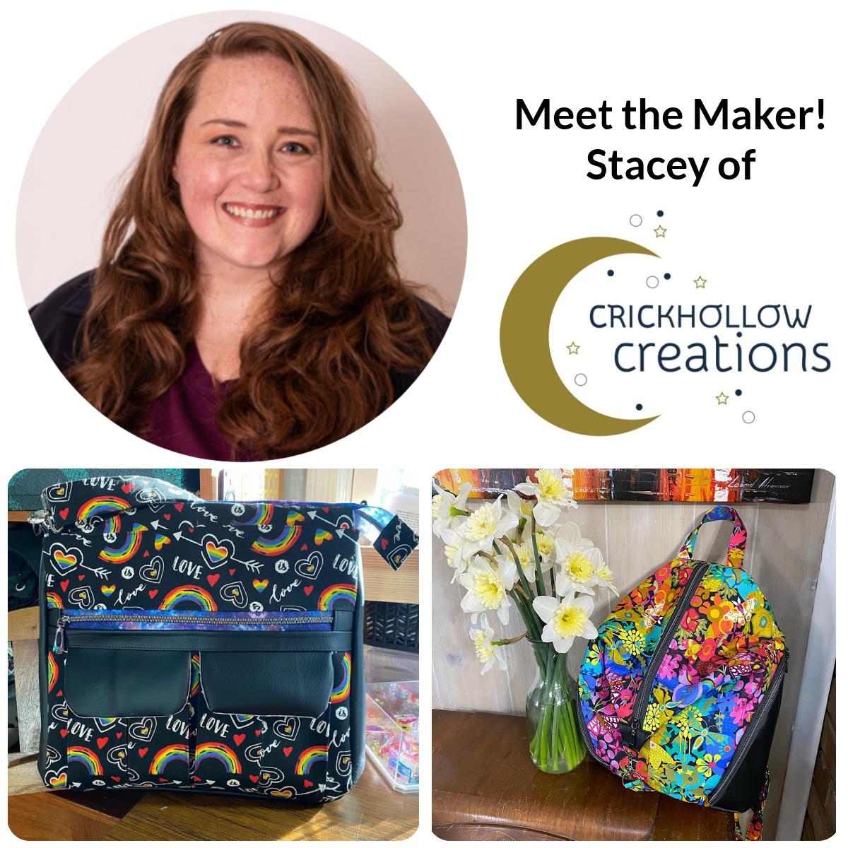 Meet the Maker - Stacey of Crickhollow Creations!