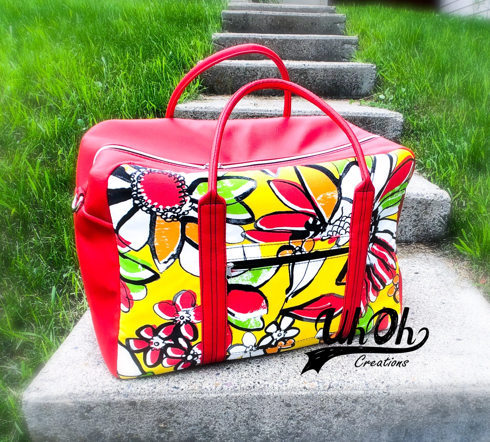 The Explorer Carry-on made by Tara from UhOh Creations