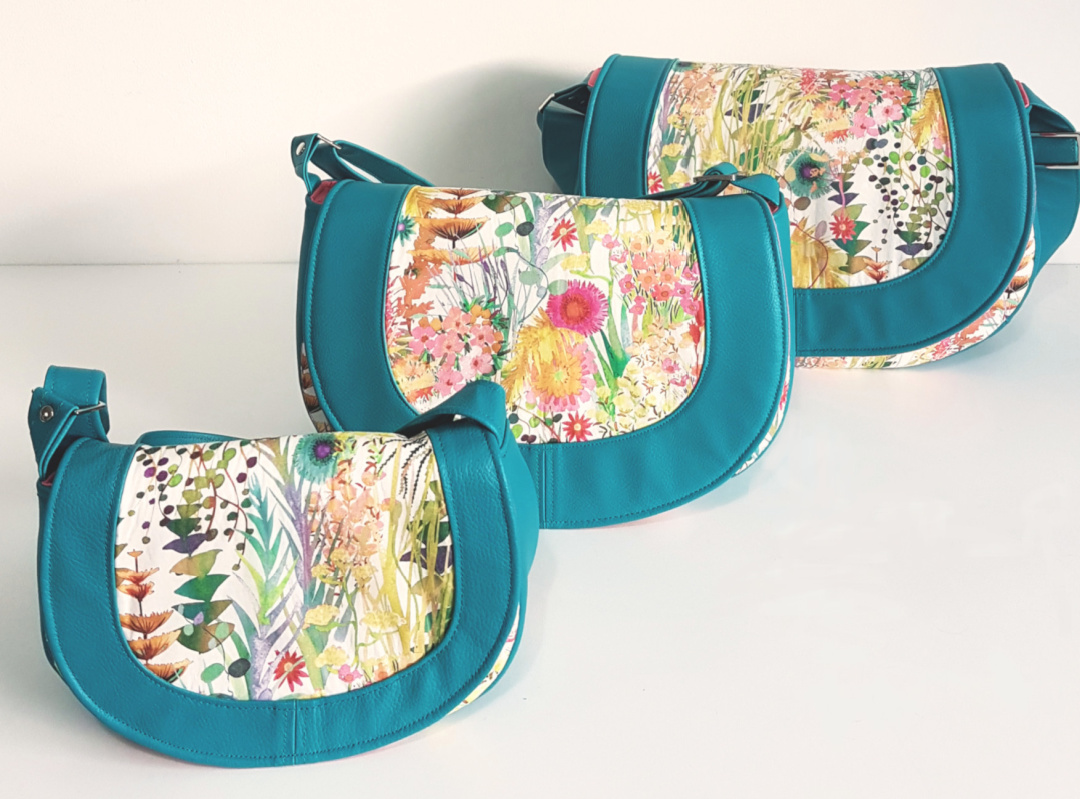 Sassy Saddlebag from Sewing Patterns by Mrs H