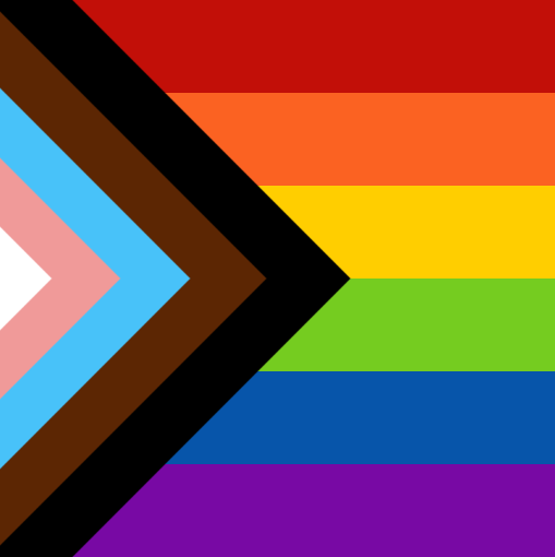 Social Progress Pride Flag, originally designed by Daniel Quasar