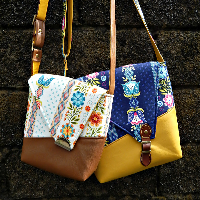 The Squiffy Sling Bag from Sewing Patterns by Mrs H