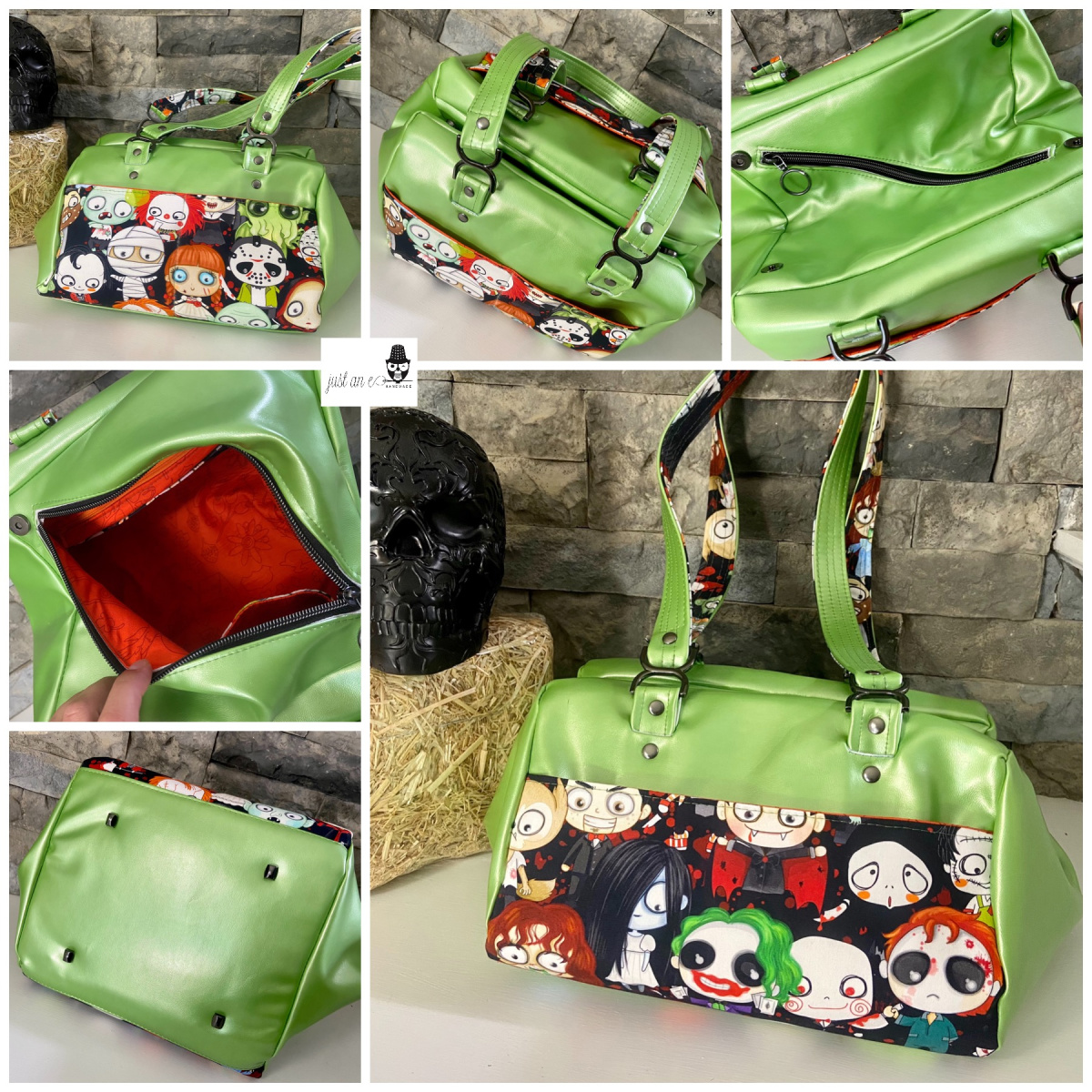 The small Super Nova Satchel made by Abbe Coury from Just An E Sewing