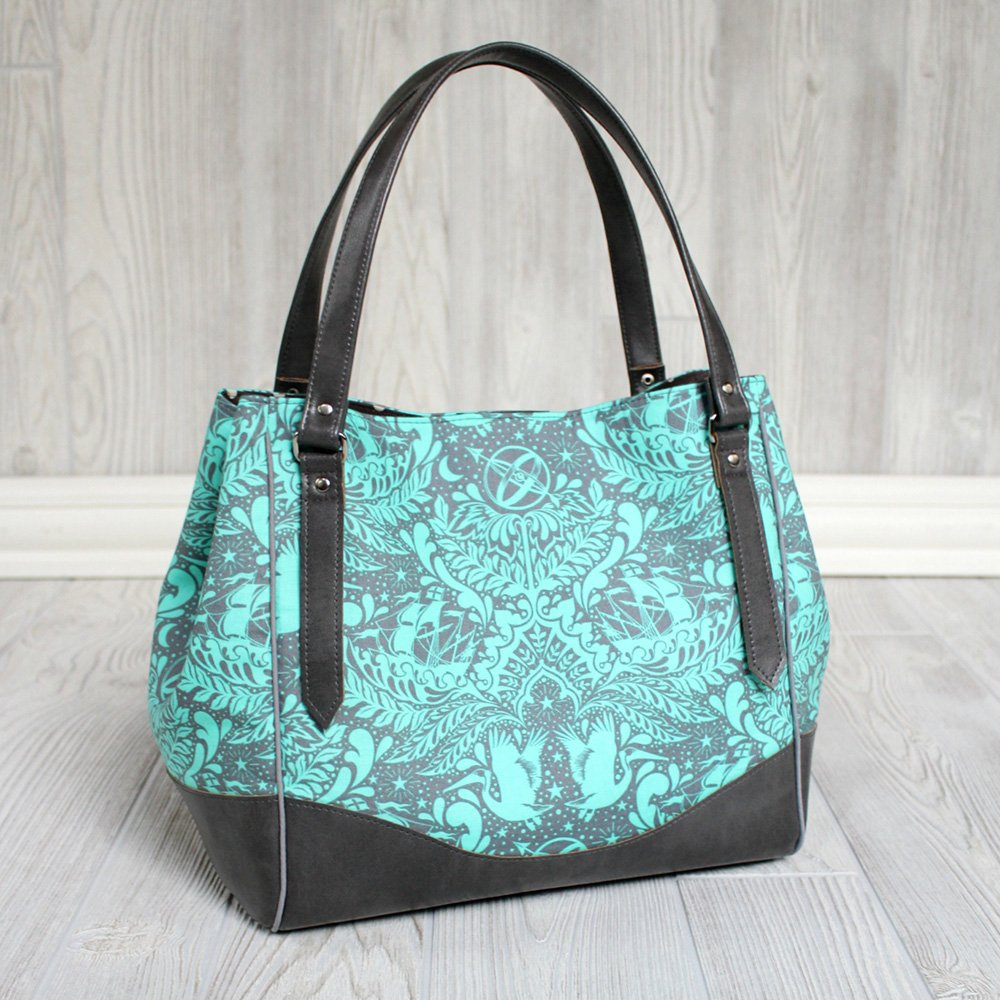 Charlotte City Tote from Swoon Patterns