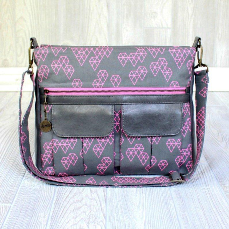 Sydney Crossbody Bag from Swoon Patterns