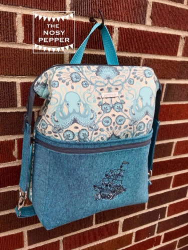 The Dainty Daytripper, made by The Nosy Pepper