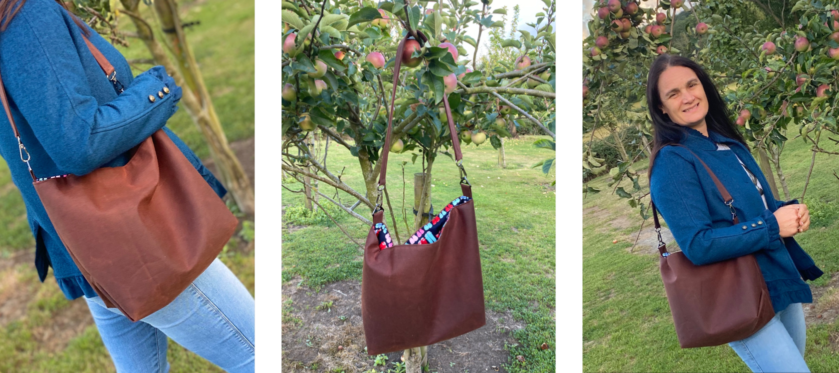 The Cwtsh Bag charity PDF pattern from Sewing Patterns by Mrs H, made by Amanda Sykes