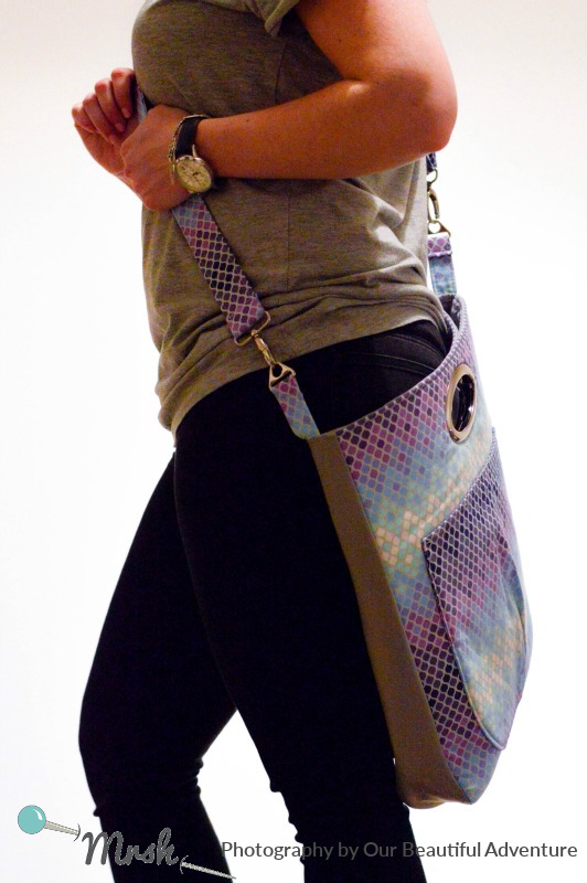 Window Shopper Tote from Sewing Patterns by Mrs H