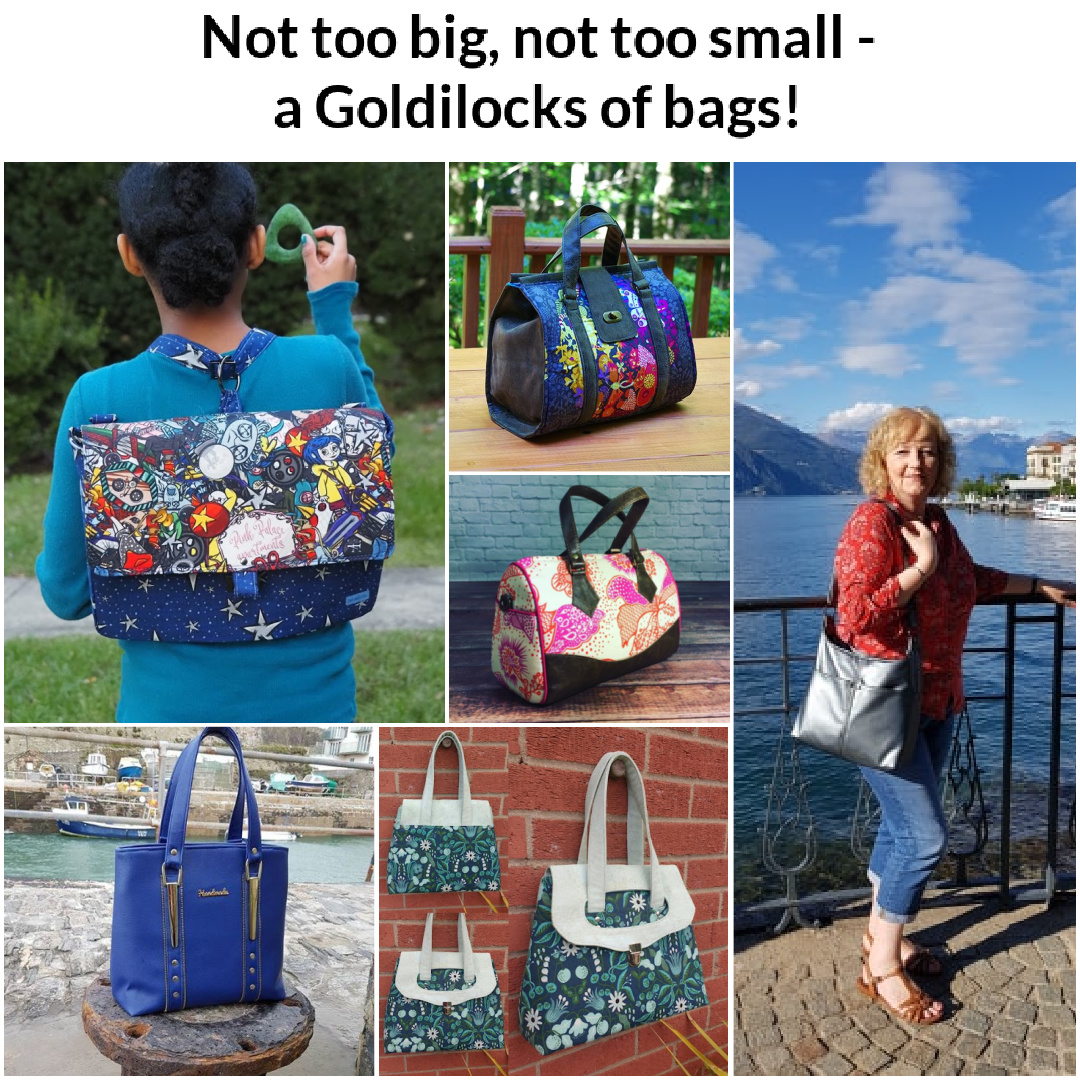 Sewing patterns for medium-sized bags