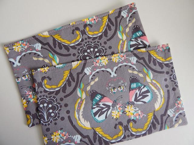 The Nappy Bag Sew Along - Back Pockets