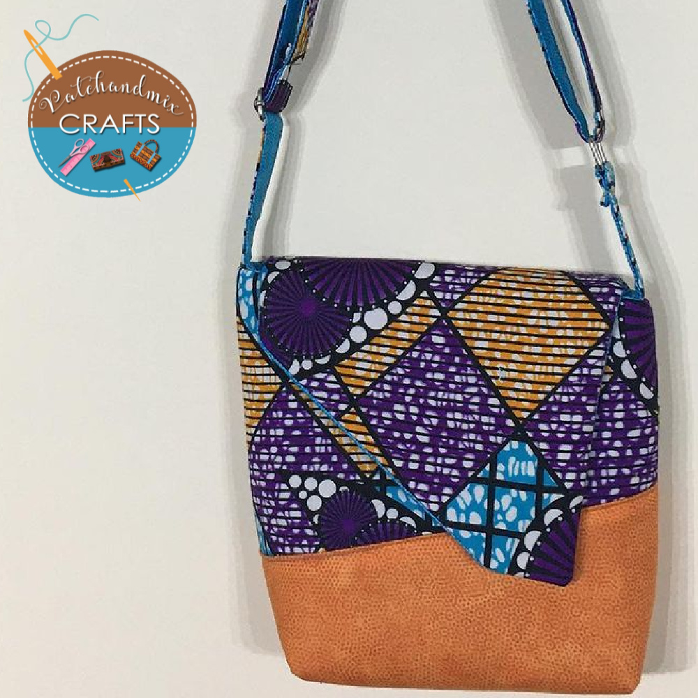 The Squiffy Sling Bag video Sew Along with Titi from Patch & Mix Crafts